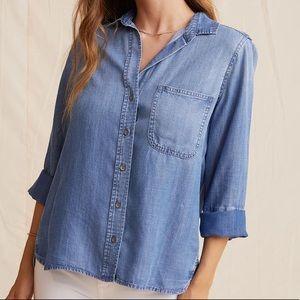 NWOT Bella Dahl Shirt Tail Button Down. Size M.